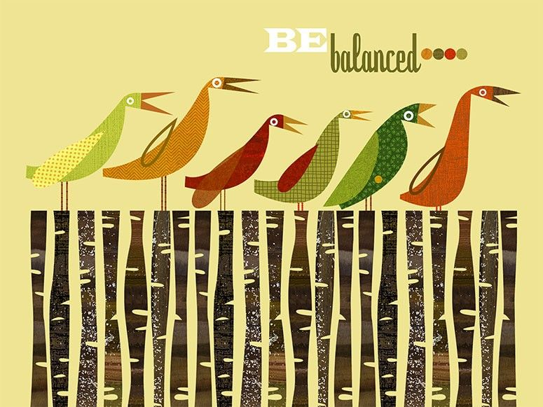 Be Balanced - Birds by Brian Love, Birds Canvas Wall Art | GreenBox ...