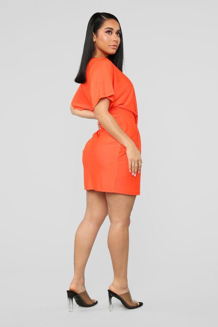 Do The Dolman Sleeve Dress Orange Dolman Sleeve Dresses Orange Fashion Fashion [ 1140 x 760 Pixel ]