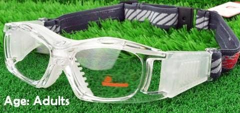4d1c3c9ccd7 Adults  Sports Goggles BL023 Clear White(Prescription Rx Lenses ...