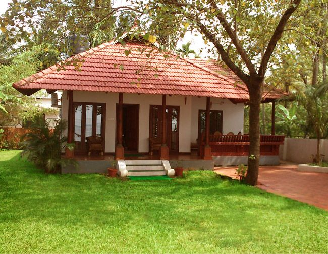 Like The Simplicity Village House Design House Plans Farmhouse Kerala House Design