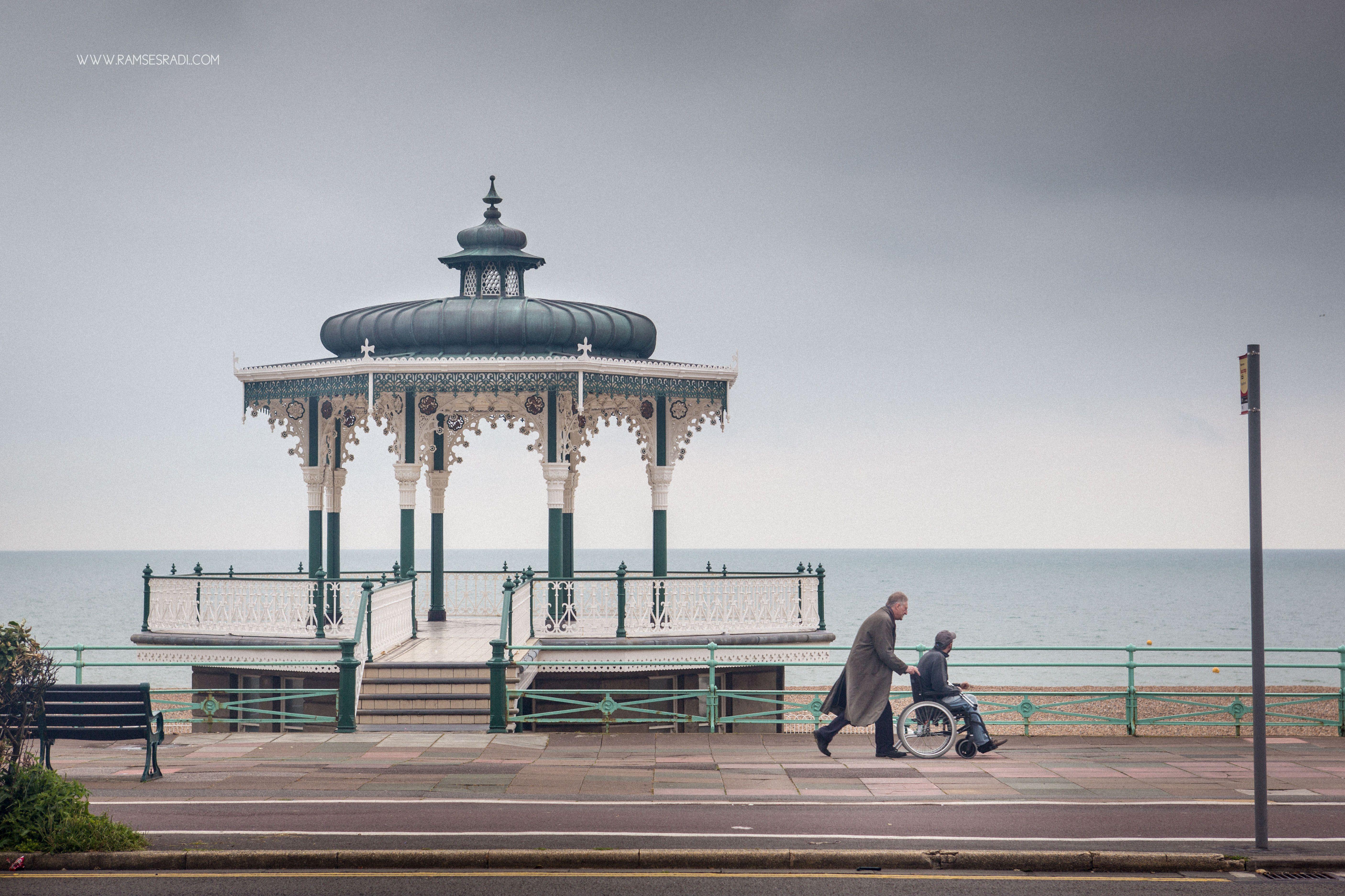 Brighton Seafront by Ramses Radi www.ramsesradi.com #landscape #photography #Brighton