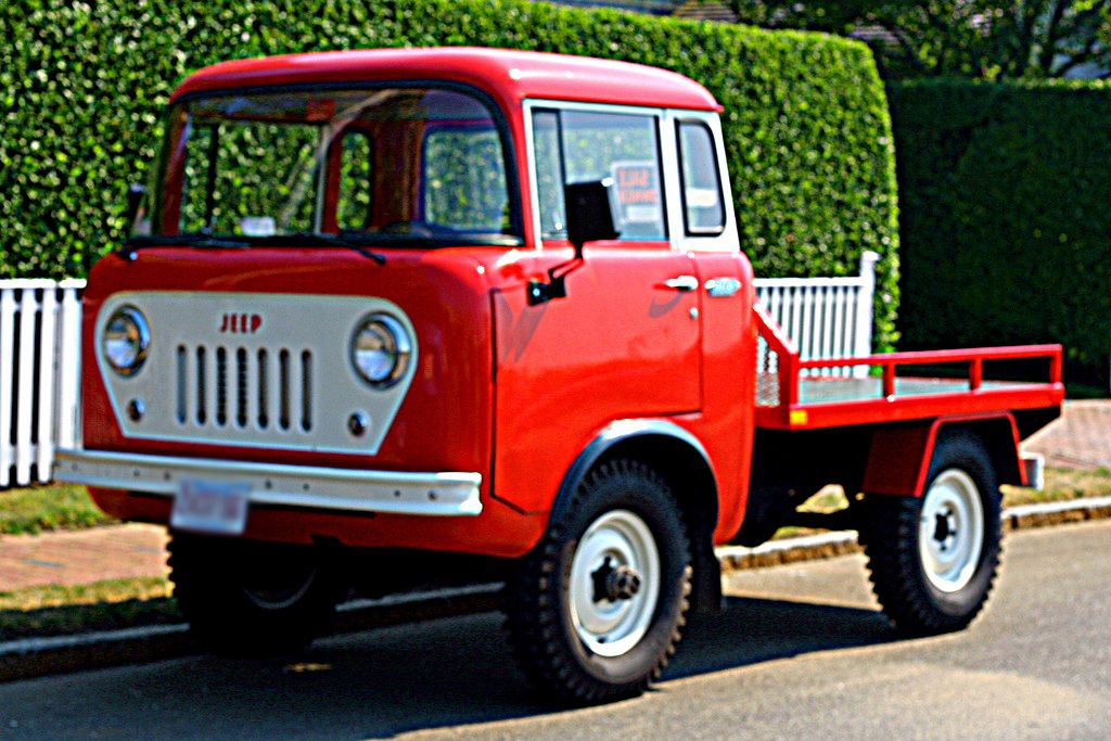 Do You Know The Name Of This Jeep Vintage Pickup Trucks