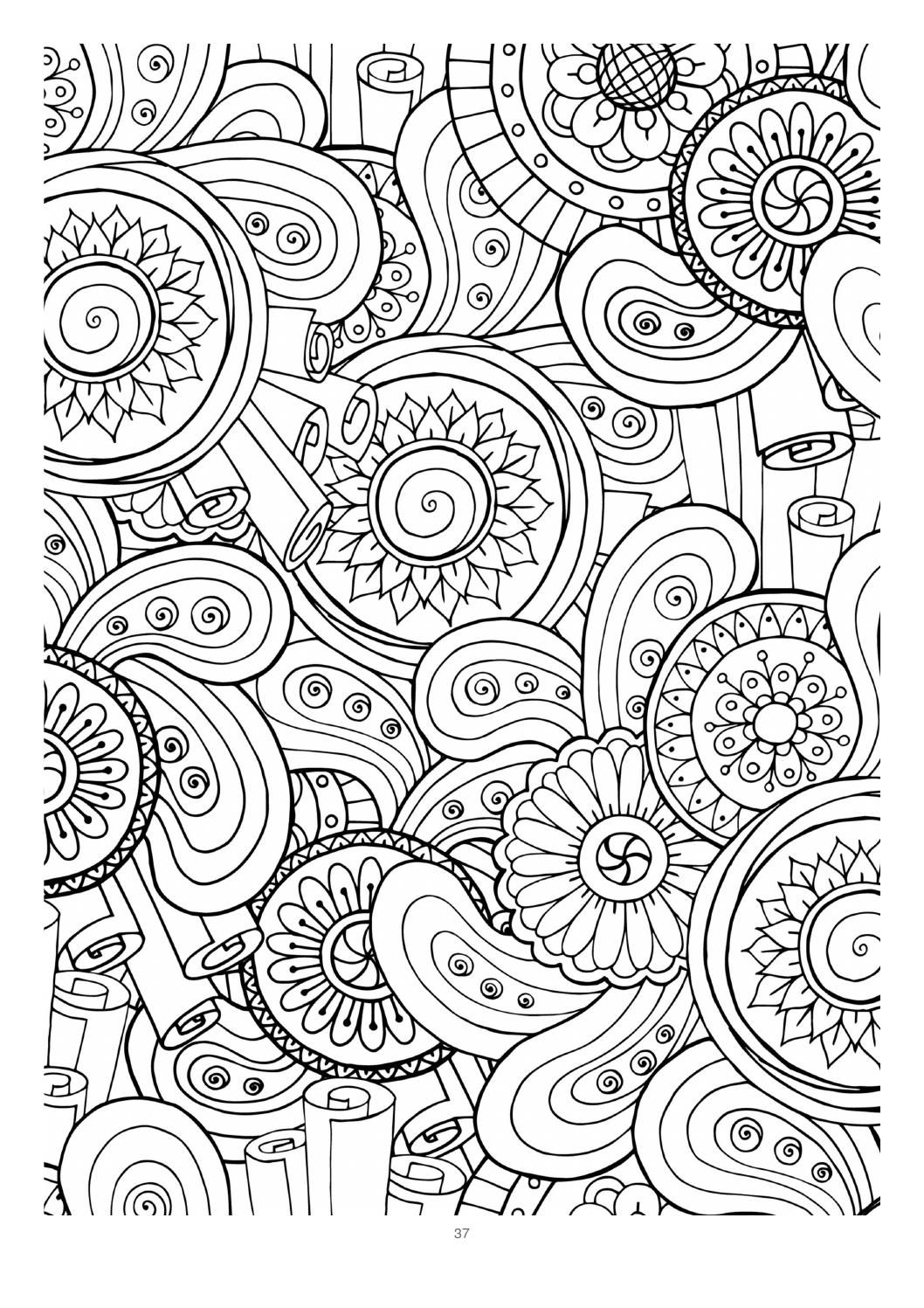 Mind Massage colouring book for adults | Coloring books, Colouring art  therapy, Pattern coloring pages