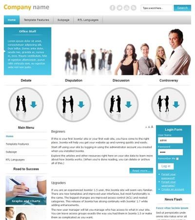 Jasa Pembuatan Website Perusahaan \/ Website Company Profile Jasa - profile company template