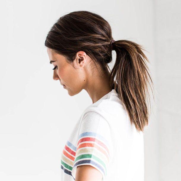Einfach 5 Schnelle Frisuren Für Ungewaschene Haare Flechtfrisuren