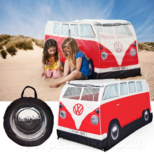 Classic Red Vw C&er Play Tent & Classic Red Vw Camper Play Tent | Vw camper vans Vw and Tents