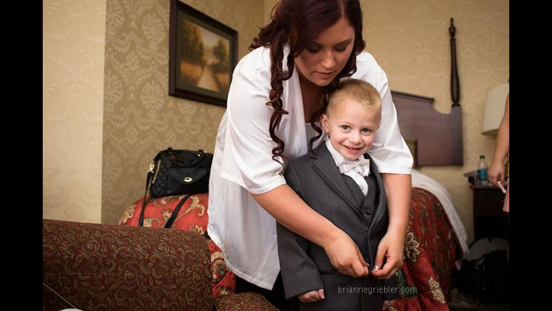 Mother and Son -Brianne Griebler Photography
