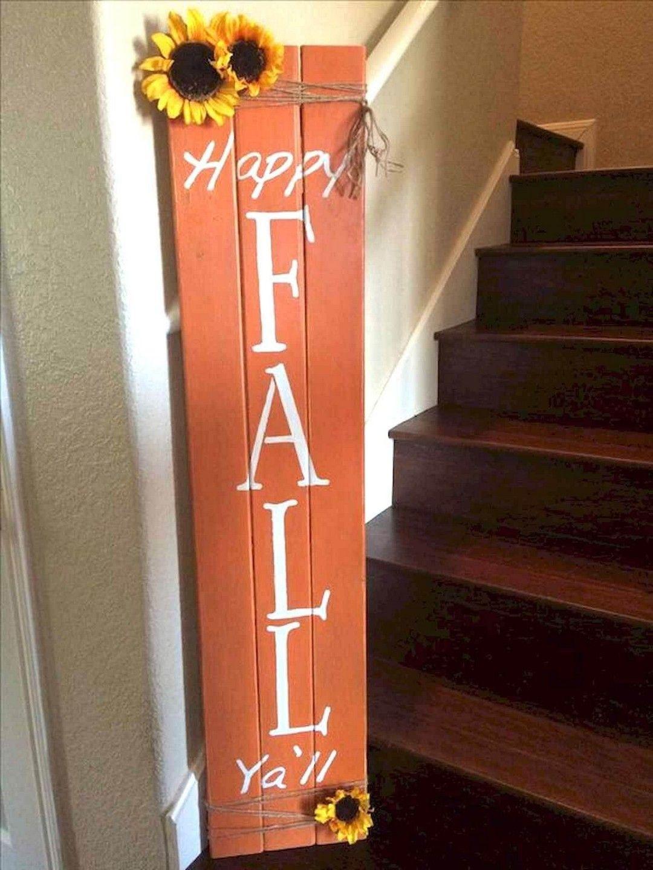Diy Pallet Wood Home Decor Ideas Fall Wood Crafts Diy Fall Fall Diy