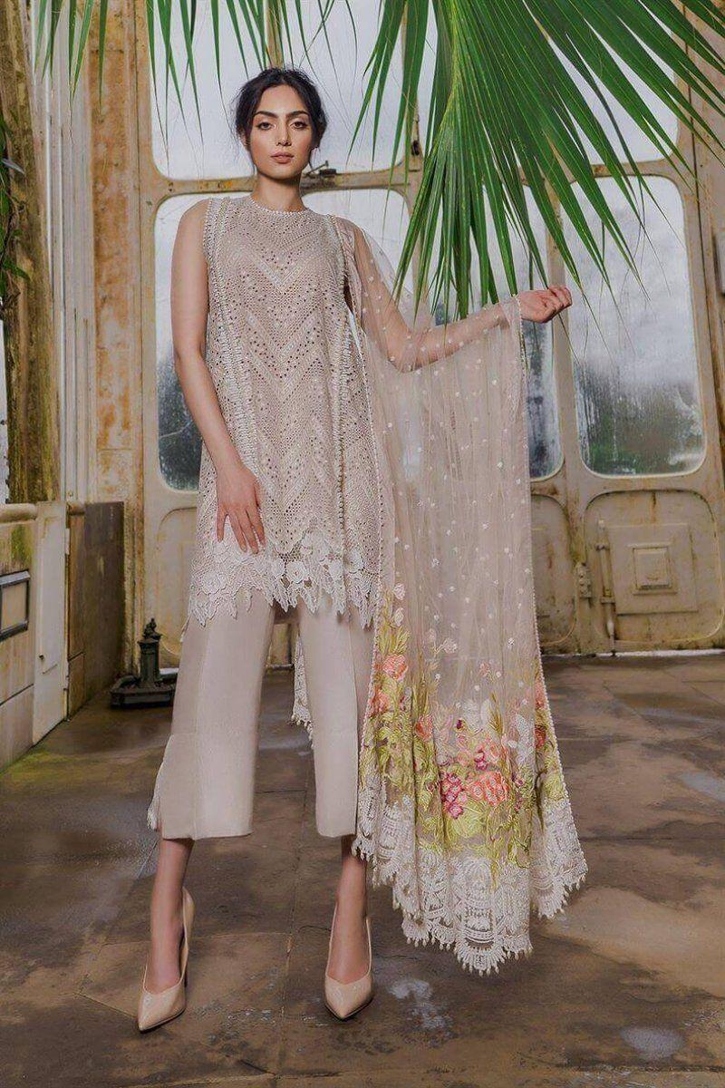 44d9e372e3 Sobia Nazir Luxury Lawn 2019 Pakistani Salwar Kameez 3B in 2019 ...