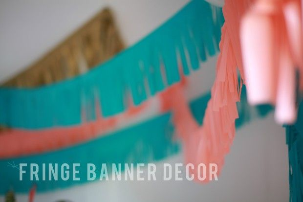 Fringes, Banners and DIY and crafts