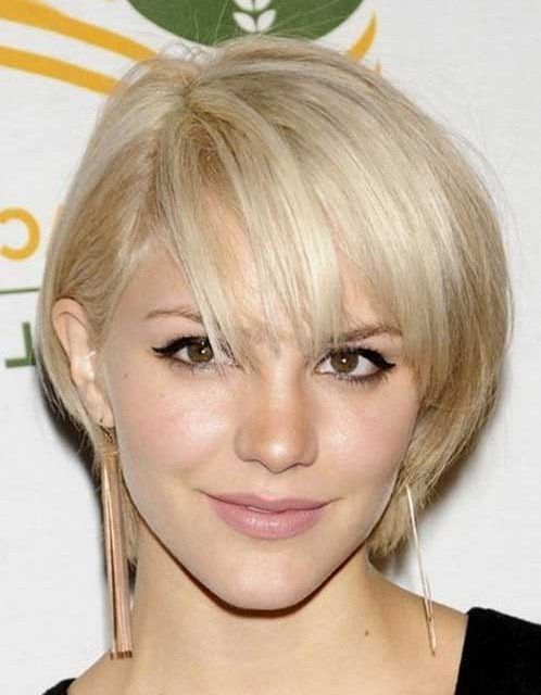 Easy Hairstyles Quick Bob Hairstyles With Bangs For Short Straight