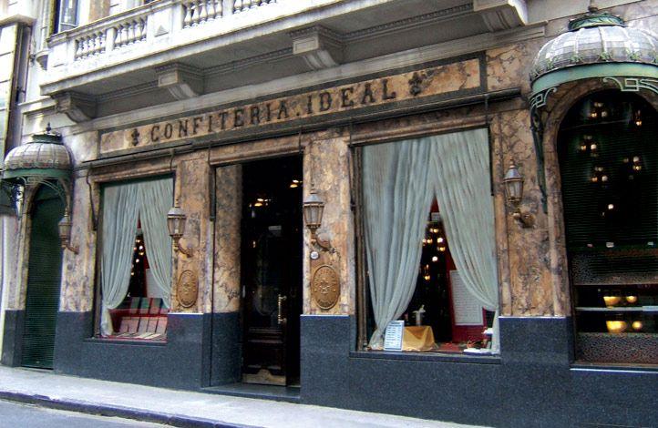 Confiteria Ideal (fachada).-