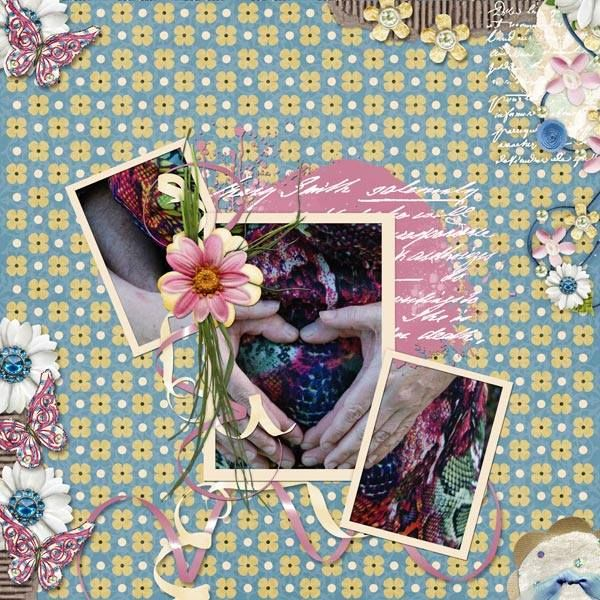 The Digichick :: Digital Kits :: Blooming Impressions