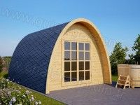 Un abri original ! http://www.m-habitat.fr/abri-de-jardin ...