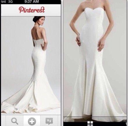 Off White Silk Dakota Feminine Wedding Dress | Nicole miller ...