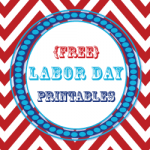 {Free} Labor Day Party Printables - Great collection of printables for a party or just for decorating! I like the cupcake wrappers & tags (and the banner too) I like it all, lol #labordayfoodideas