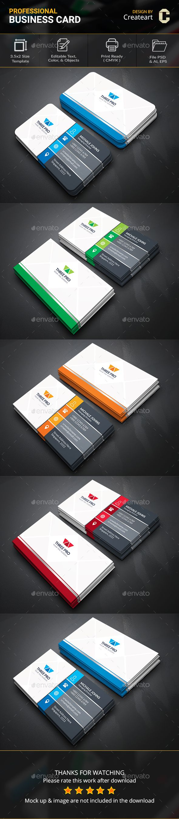 Silver Business Card - Business Cards Print Templates | Business ...