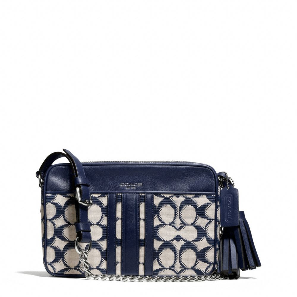 280f8b3207 The Legacy Flight Bag In Needlepoint Signature Fabric from Coach ...