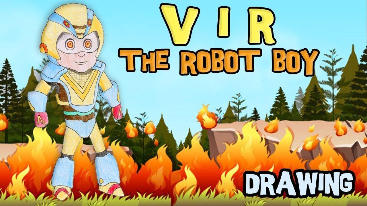 Vir The Robot Boy Superhero Cilik Yang Akan Menggambar Dan