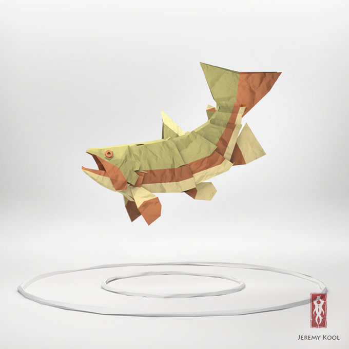 Paper Fish Gorgeous By Jeremykool11 On Fubiz