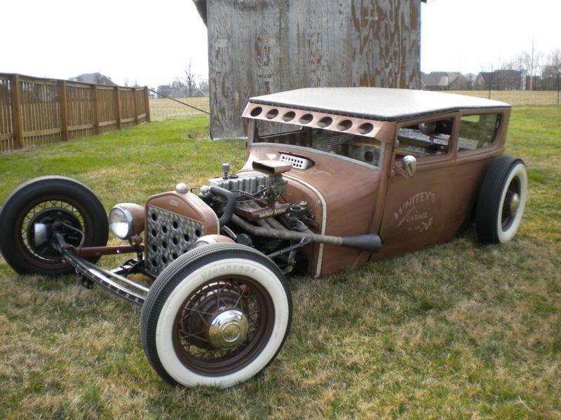 1927 Ford Model T Rat Rod Hot Rod Rat Rod Hot Rods Ford Models