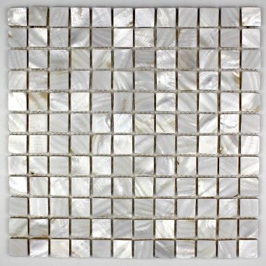 Mosaique De Nacre Carrelage Douche Salle De Bain Nacre 23 Blanc