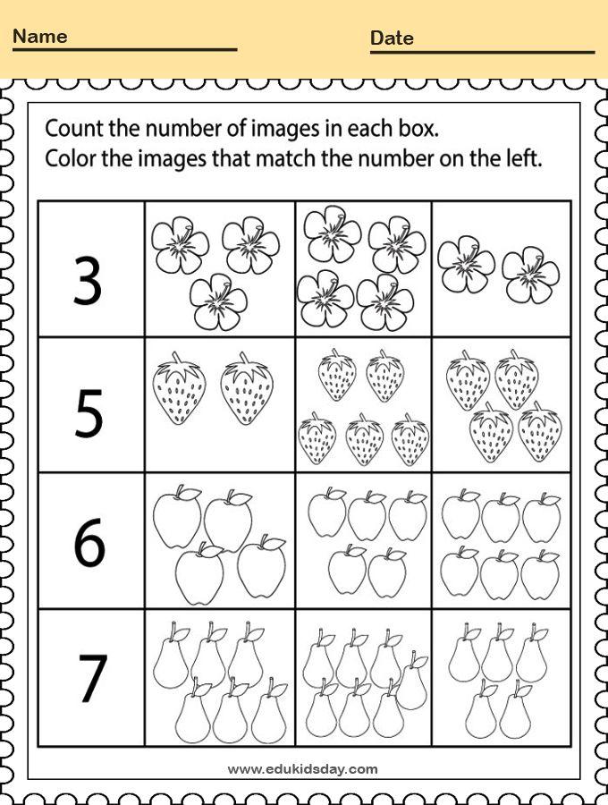 5 Best Kindergarten Worksheets Big Or Small And Col Kindergarten Math Worksheets Counting Kindergarten Addition Worksheets Coloring Worksheets For Kindergarten Preschool math worksheets free printable