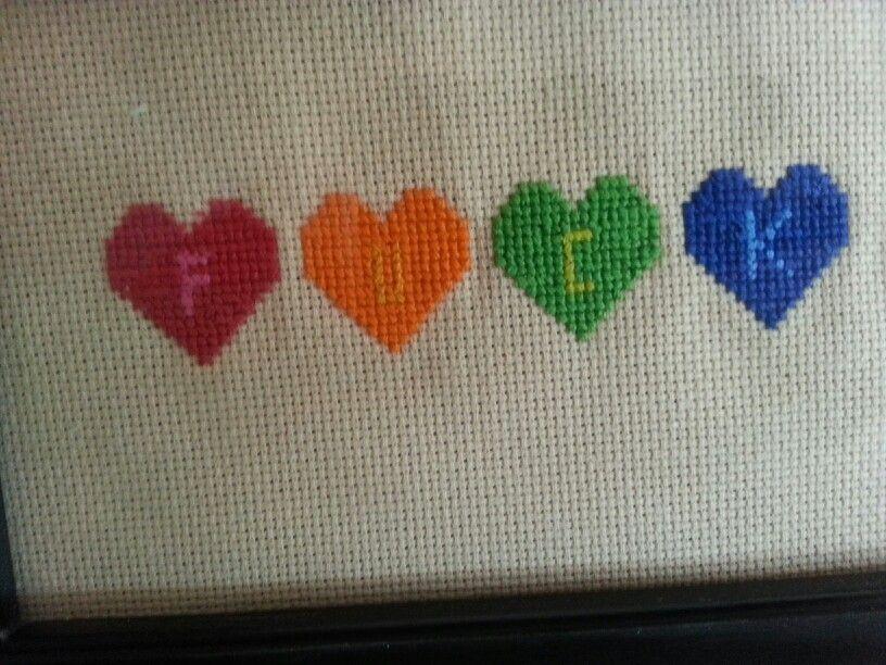 My first project. Thanks subversive cross stitch!