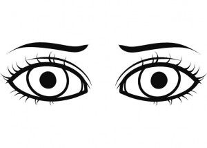 Pintar Ojos Marrones Occhi