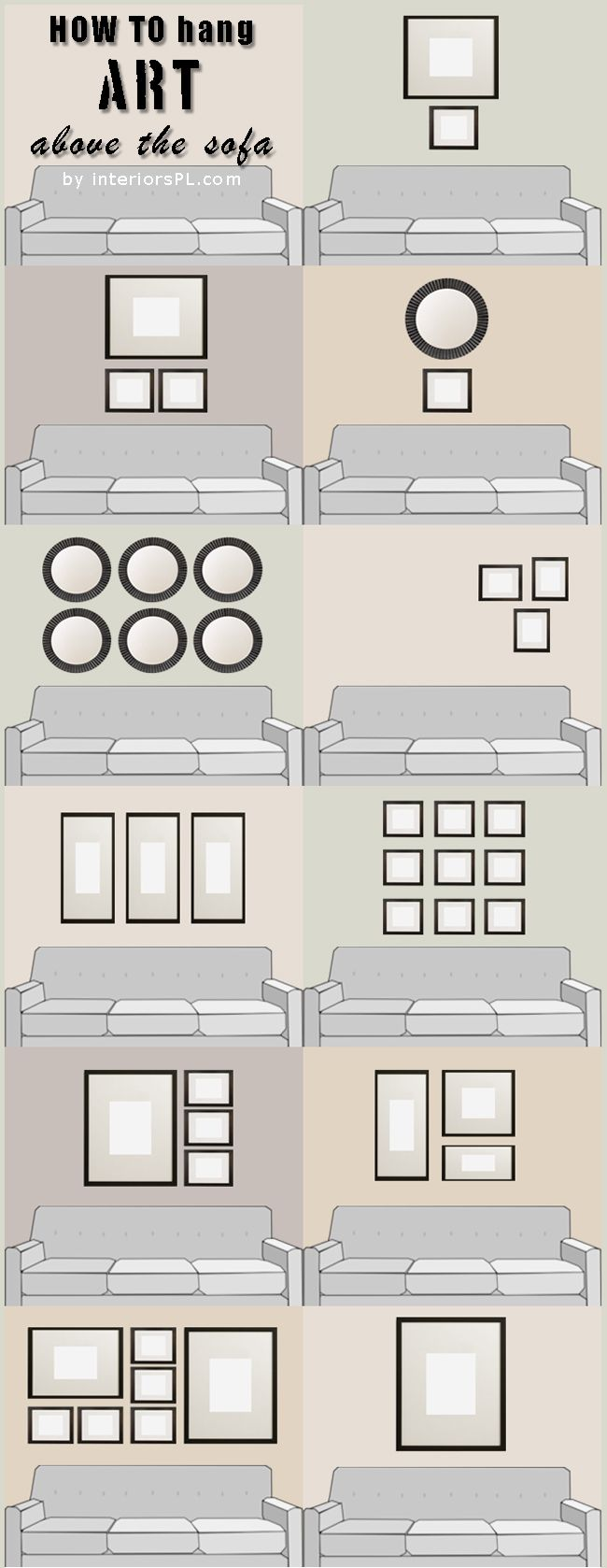 How To Decorate Living Room Walls Wall