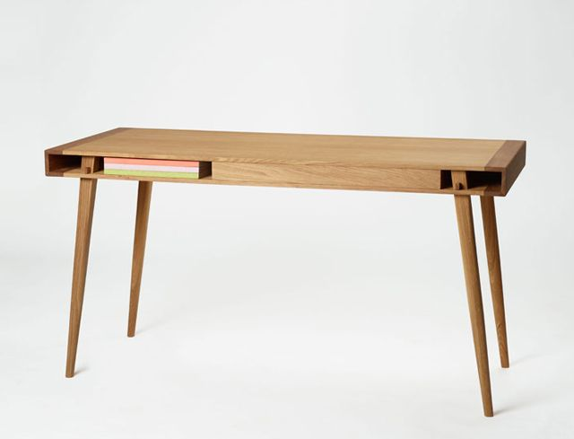 super stylish poet desk by scandinavian designer martin d