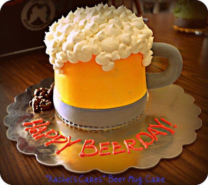 Beer Mug Cake Birthday For Men Desserts 21st Cakes