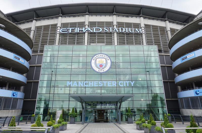 Resultado de imagen para fachada etihad stadium
