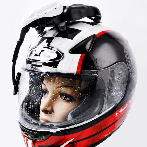 e3d93c5e Strange but true: the Helmet Visor Wiper.   The best motorcycle gear ...