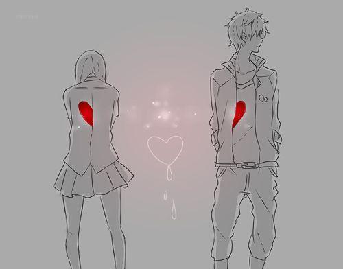 Resultado De Imagem Para Sad Anime Couple Tumblr