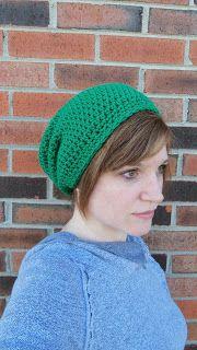 CsqDesigns: Unisex Slouch Hat pattern