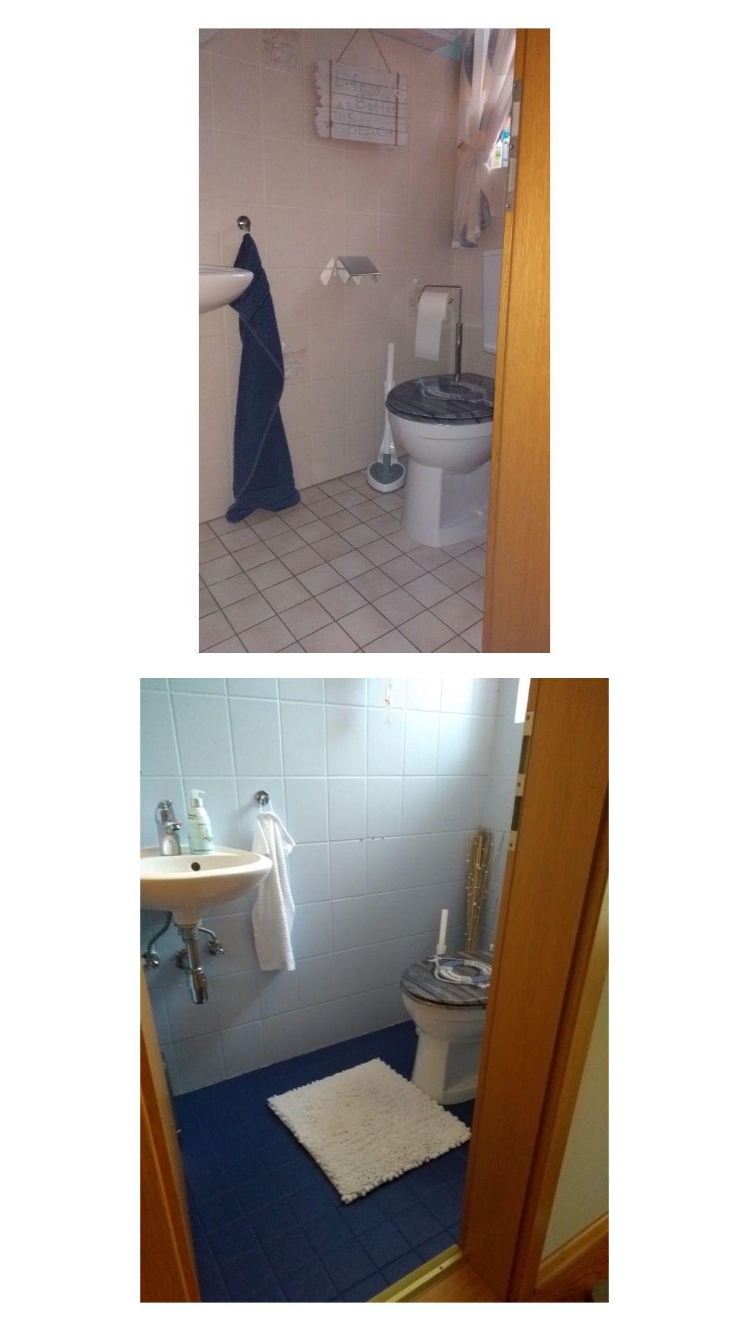 Fliesen Streichen Mit Kreidefarbe Badezimmer Streichen Fliesen Streichen Und Kreidefarbe