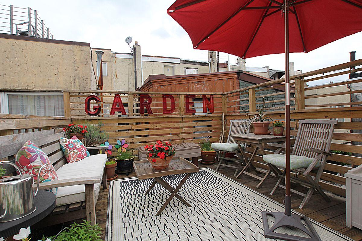 Roof Deck Bella Vista Philadelphia Rooftop Design Roof Deck Roof Styles