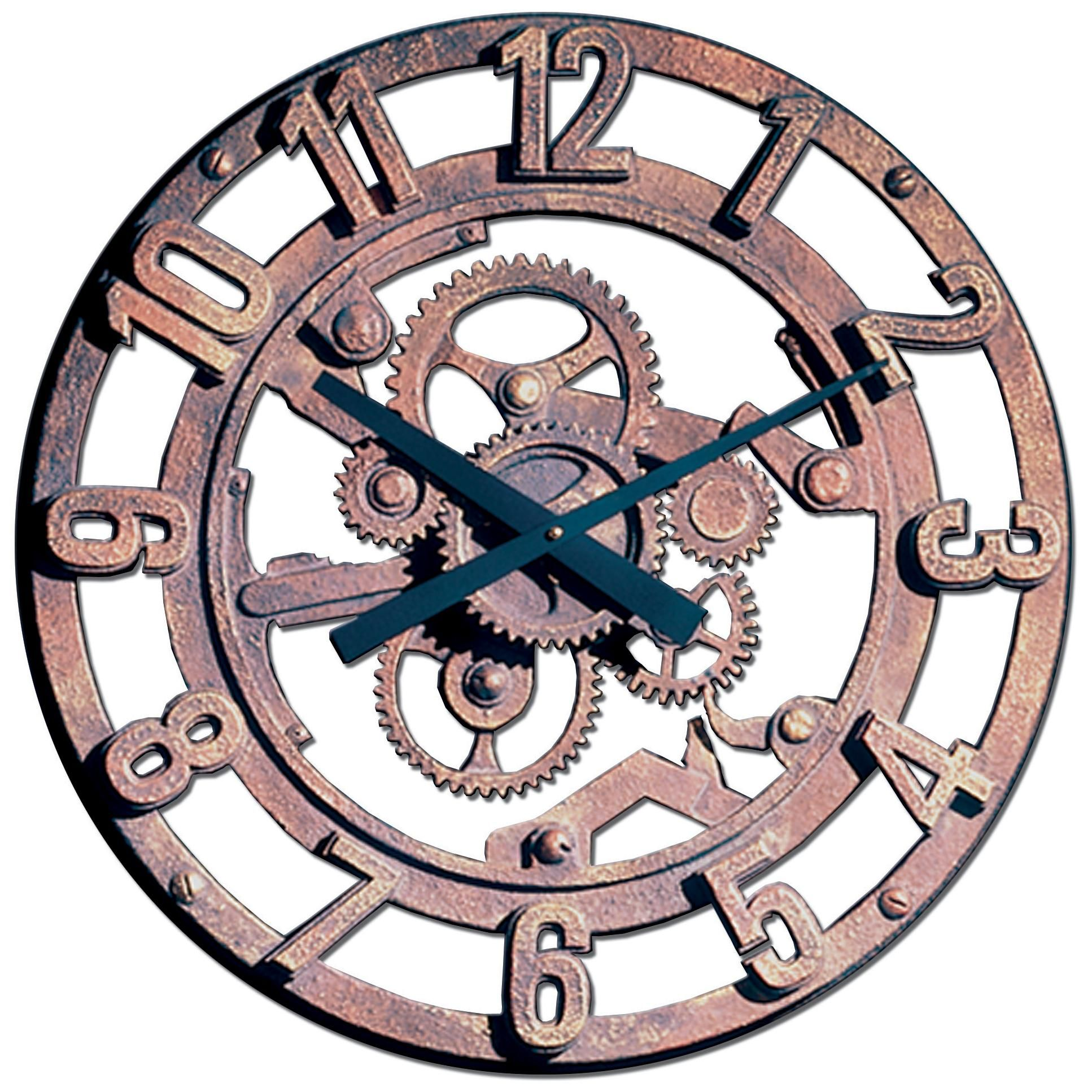 Gears of time 22 wide battery powered wall clock steampunkery gears of time 22 wide battery powered wall clock amipublicfo Gallery