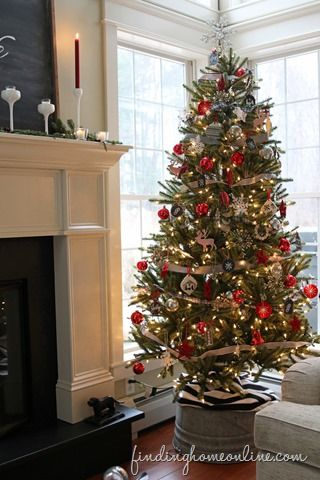 Christmas Tree Decorating How To Get the Look Christmas