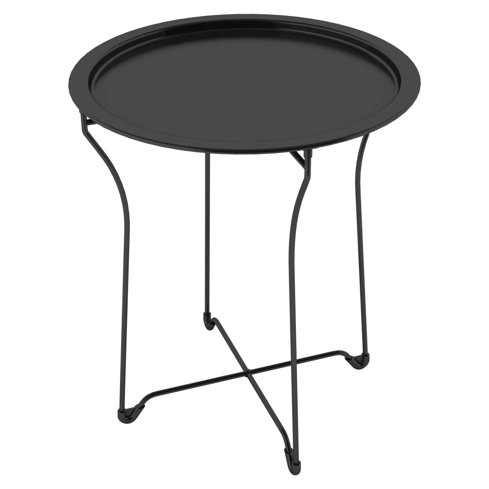 End Table Metal Black Atlantic Metal Side Table Round Metal Side Table Metal End Tables [ 1560 x 1560 Pixel ]