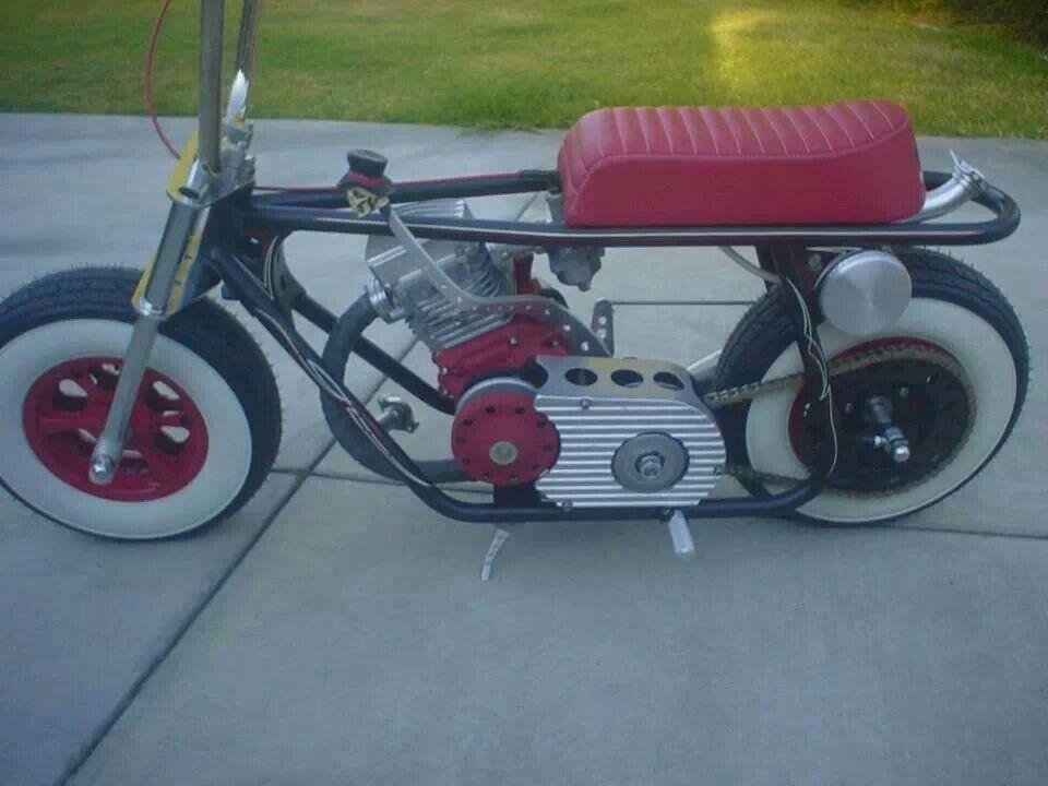 Rat Rod Low Bike Mini Bike Mini Motorbike Bike