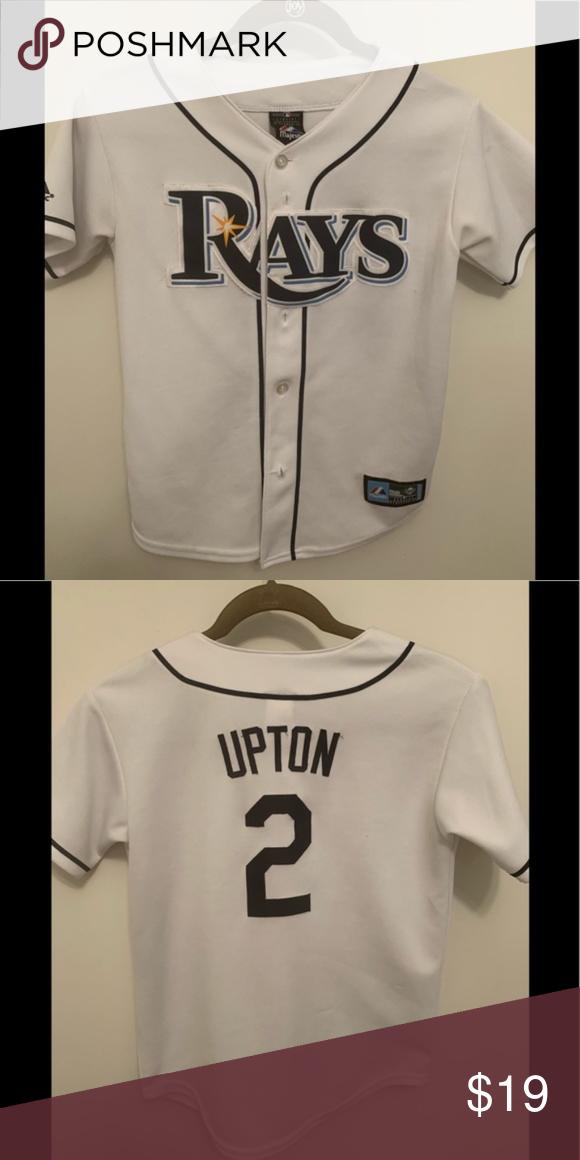 4cd5ec1f Tampa Bay Rays BJ Upton Jersey Tampa Bay Rays BJ Upton Youth Jersey Used,  but