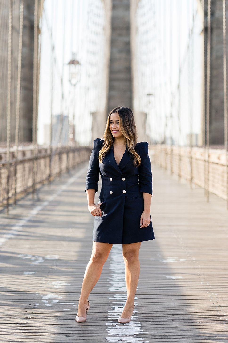 46++ Black pearl blazer dress trends