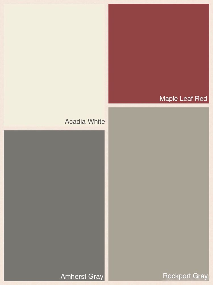 exterior color schemes with red roof. paúl and naldo\u0027s bedroom colour: rockport gray; exterior color schemes with red roof