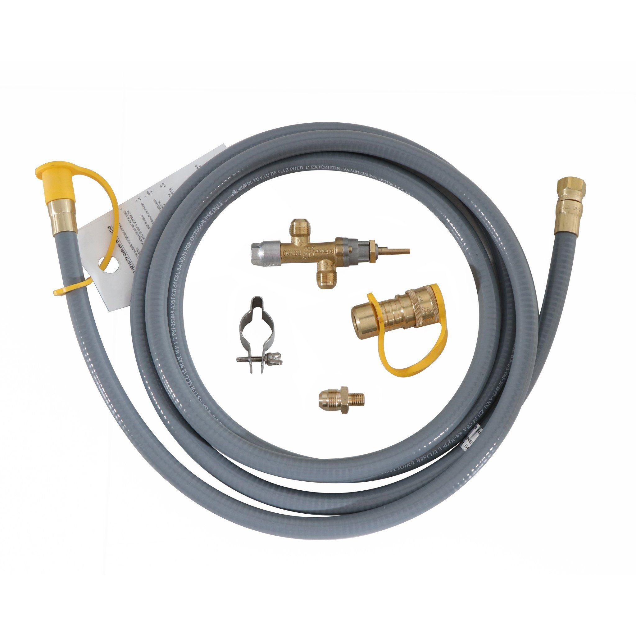 Natural Gas Conversion Kit 40 000 Btu Compatibility Fire Pit