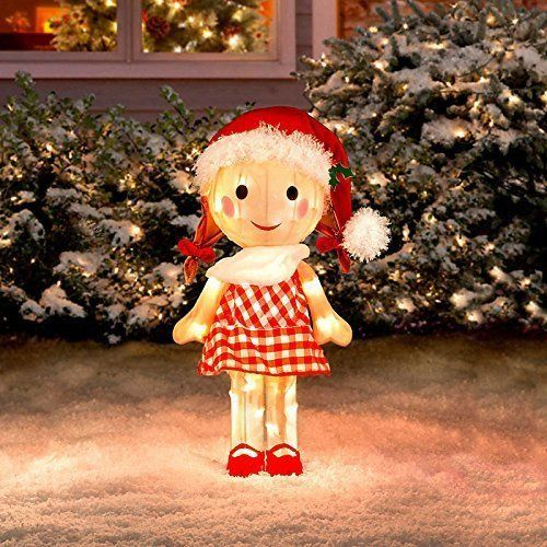 rudolph sally misfit toy 24 3 d tinsel outdoor christmas decoration yard art