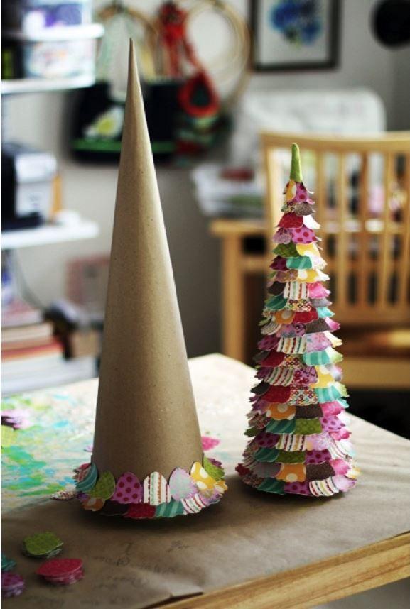 decoracion navidad arbol diy