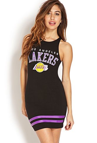 Los Angeles Lakers Dress | FOREVER 21 - 2000070940 | FASHION | Pinterest