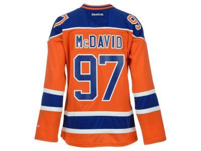Edmonton Oilers Connor McDavid Reebok NHL Women s Premier Player Jersey 6b640f288
